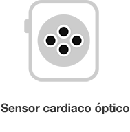 Sensor cardio optico Apple Wacth Series 3 Resumen Macstore