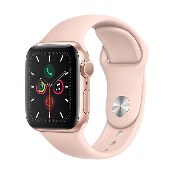 Apple Watch MWV72LZ/A S5 GPS Alum 40mm oro deportiva rosa arena
