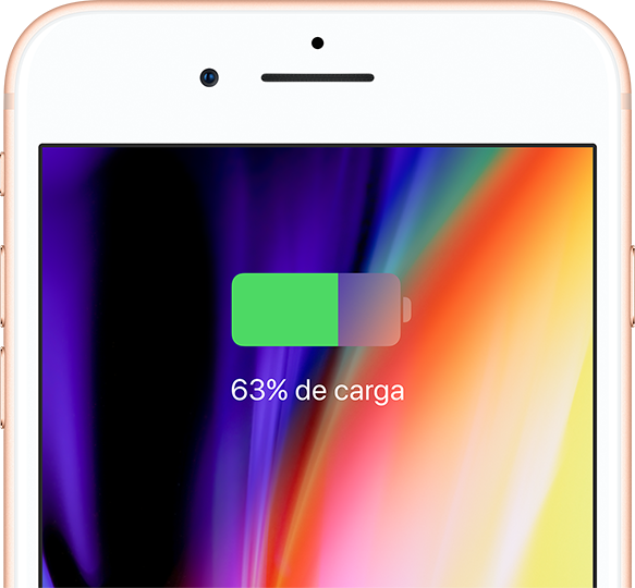 Una carga inalambrica iphone 8
