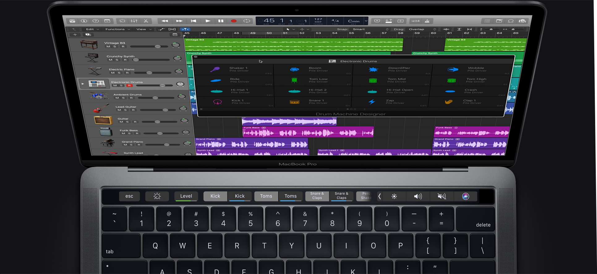 Touch Bar macbook pro Macstore