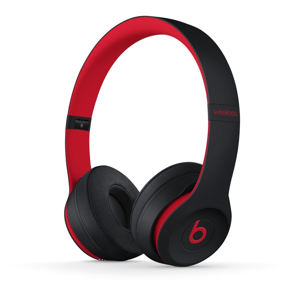 Audífonos Beats Solo 3 Wireless MRQC2LL/A - Defiant Black-Red