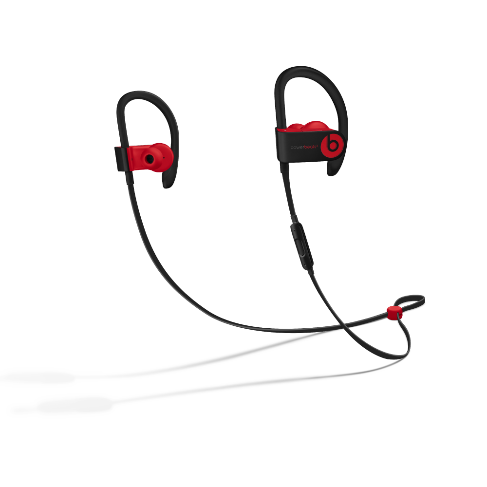 Audífonos  Power Beats 3 Wireless MRQ92LL/A - Defiant Black-Red