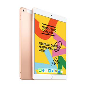iPad 7 MW6G2LZ/A Wi-Fi + Cellular 128GB Oro