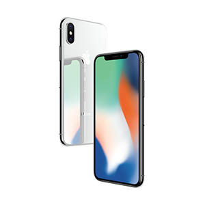 iPhone X, 256GB Plata