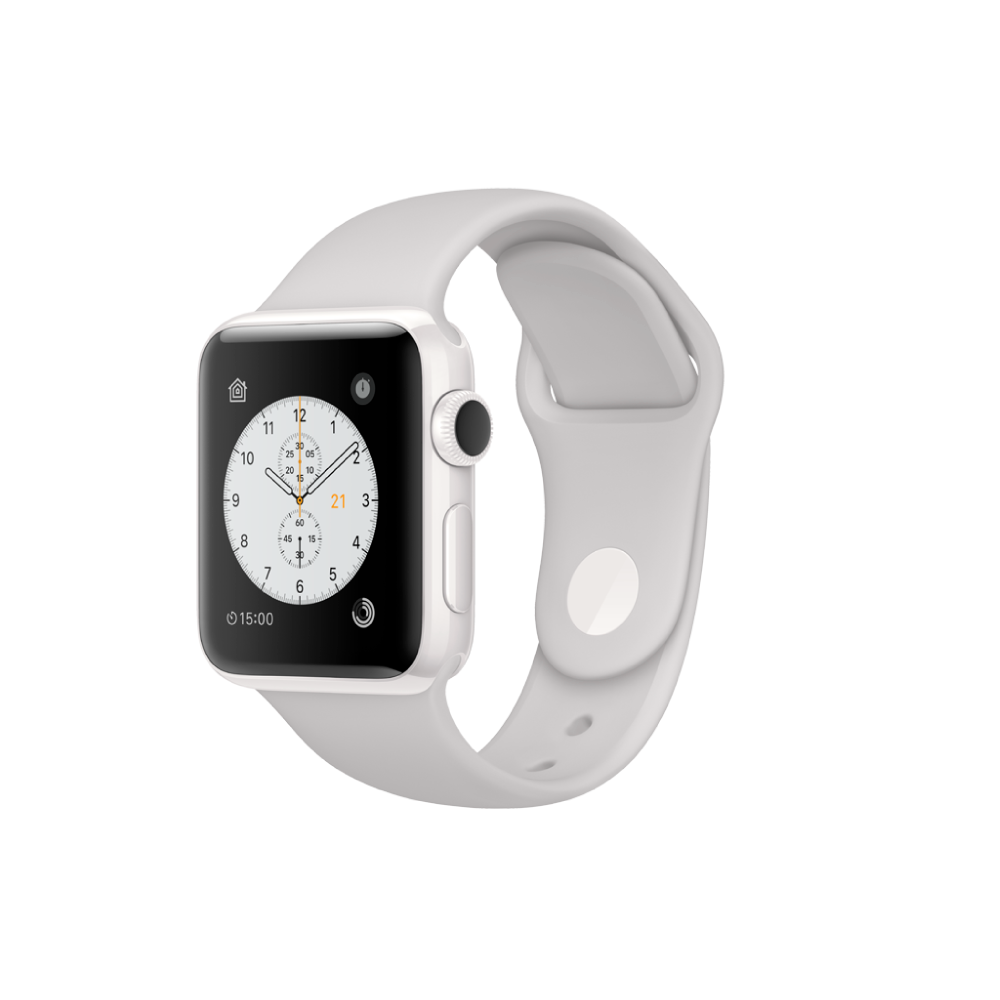 Apple Watch Edition MNPF2CL/A 38mm Céramica Blanca Corr Deportiva Nube