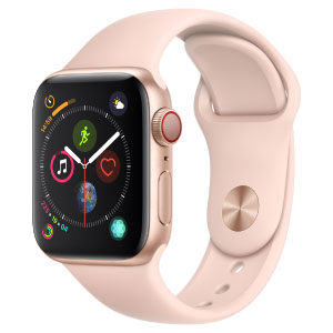 Apple Watch MTUJ2LZ/A S4 Gps+Cell 40mm Alum Oro Corr Dept Rosa Arena