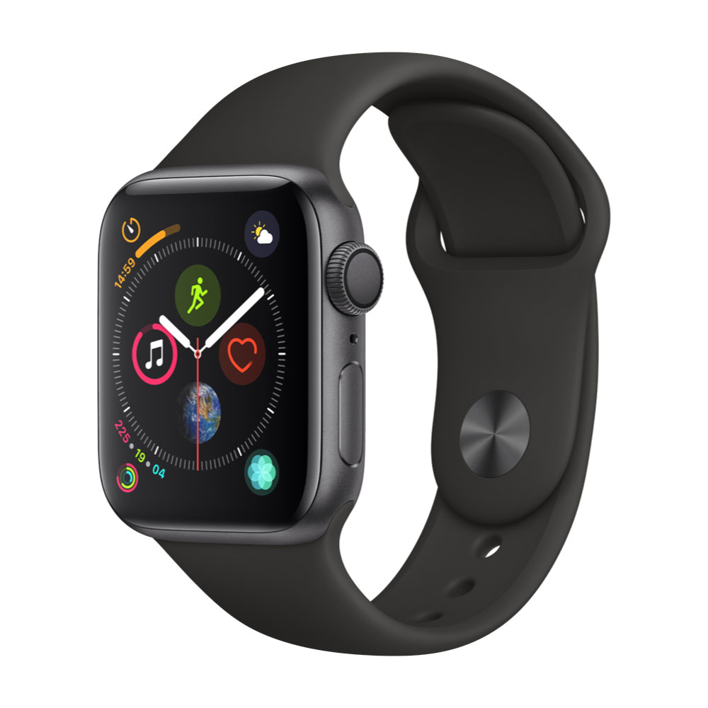Apple Watch MU662LZ/A S4 Gps 40mm Alum Gris Espacial Corr Deport Negra