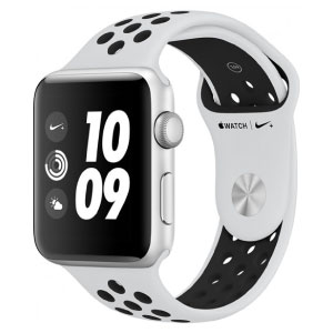 Apple Watch MU7F2LZ/A S4 Nike+ Gps 40mm Alum Plata C/NS Blanco Polar