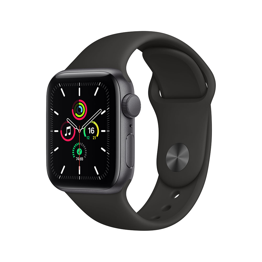 Apple Watch MYDP2LZ/A SE GPS 40mm Alum Gris Espacial Correa Dep Negra