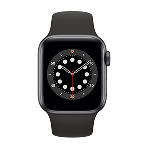 Apple Watch MG133LZ/A S6 GPS 40mm Alum Gris Espacial Correa Dep Negra