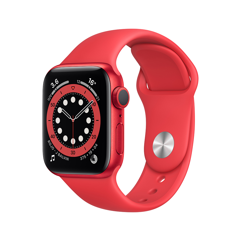 Apple Watch M00A3LZ/A S6 GPS 40mm Alum (PRODUCT RED) Correa Dep Roja