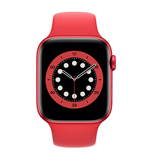 Apple Watch M00M3LZ/A S6 GPS 44mm Alum (PRODUCT RED) Correa Dep Roja