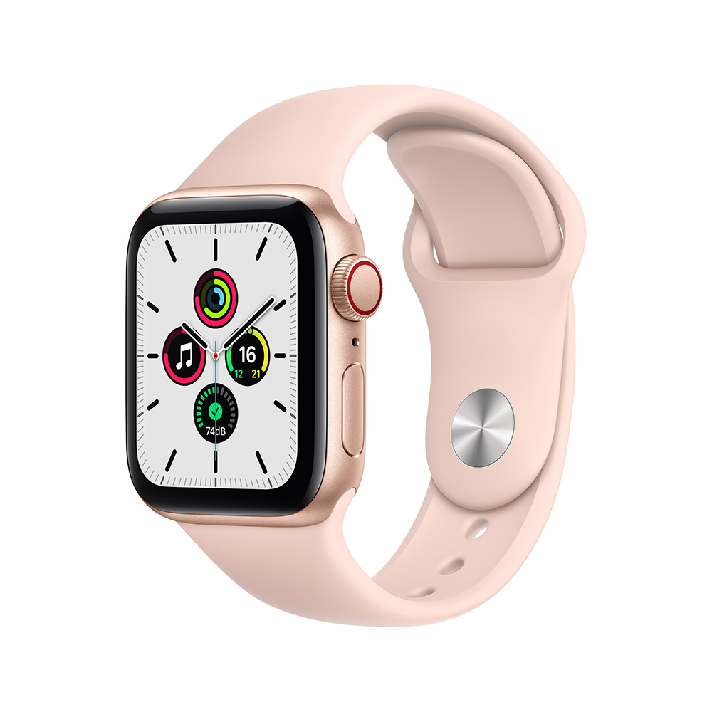 Apple Watch MYEA2LZ/A SE GPS+Cell 40mm Alum Oro Correa Dep Rosa Arena